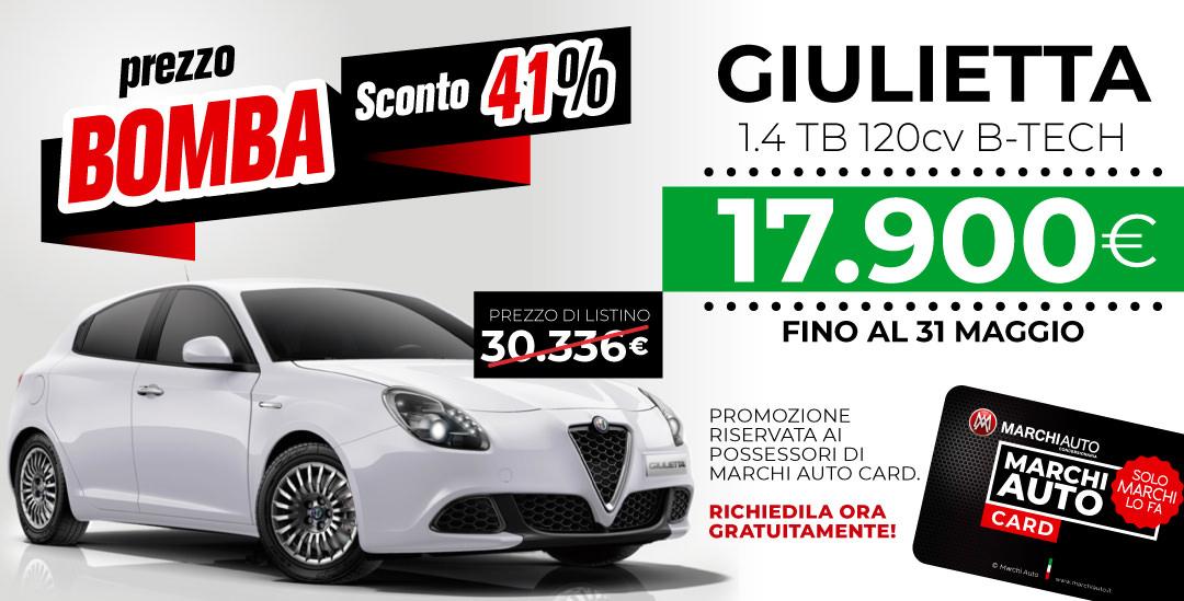 Promozioni e sconti su Alfa e Fiat Maggio 2019