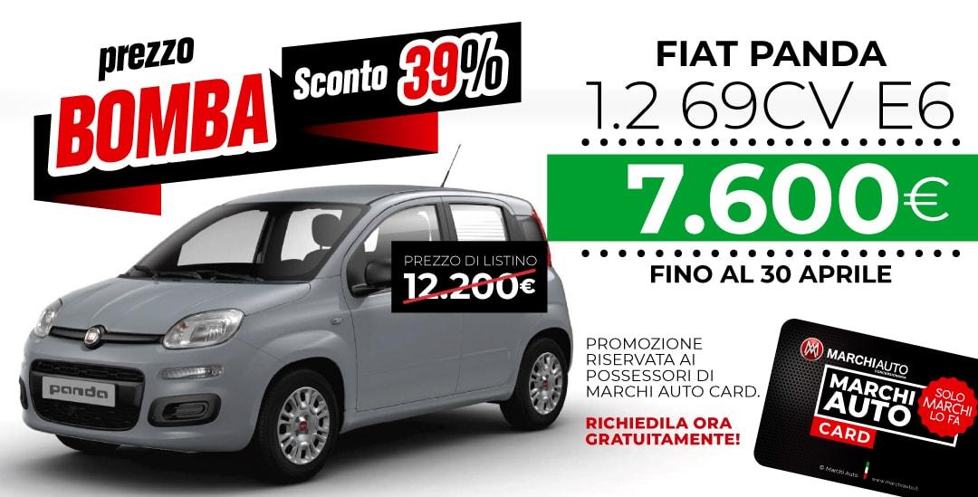 Promozioni e sconti su Fiat Panda di Aprile - Fiat Panda a 7600€