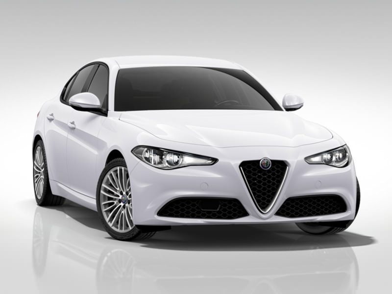 GIULIA 2.2 Turbo Diesel 150 CV AT8 Tech Edition Bianco Alfa