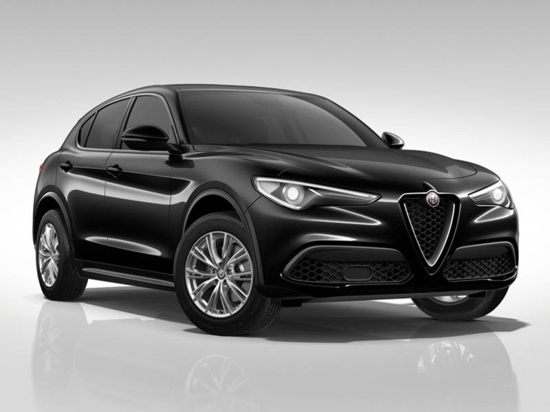Stelvio MY19-2.2 Turbo Diesel 190CV AT8 Q4 Executive Nero vulcano