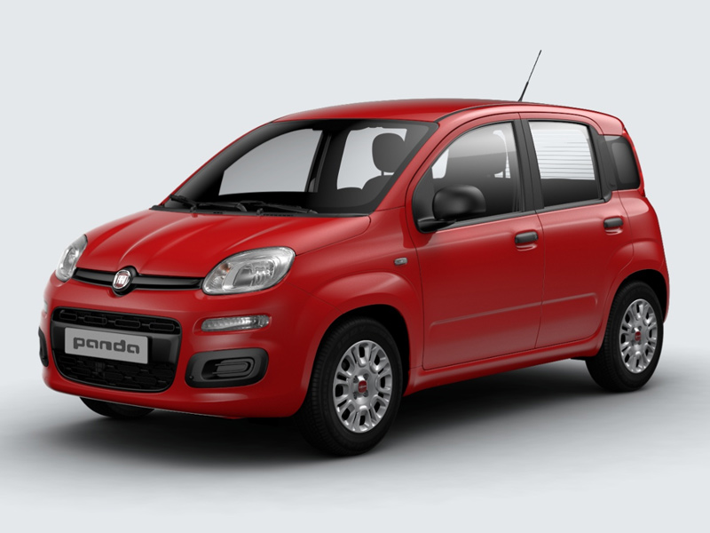 Panda 1.2 69cv S&S EASY Rosso Amore