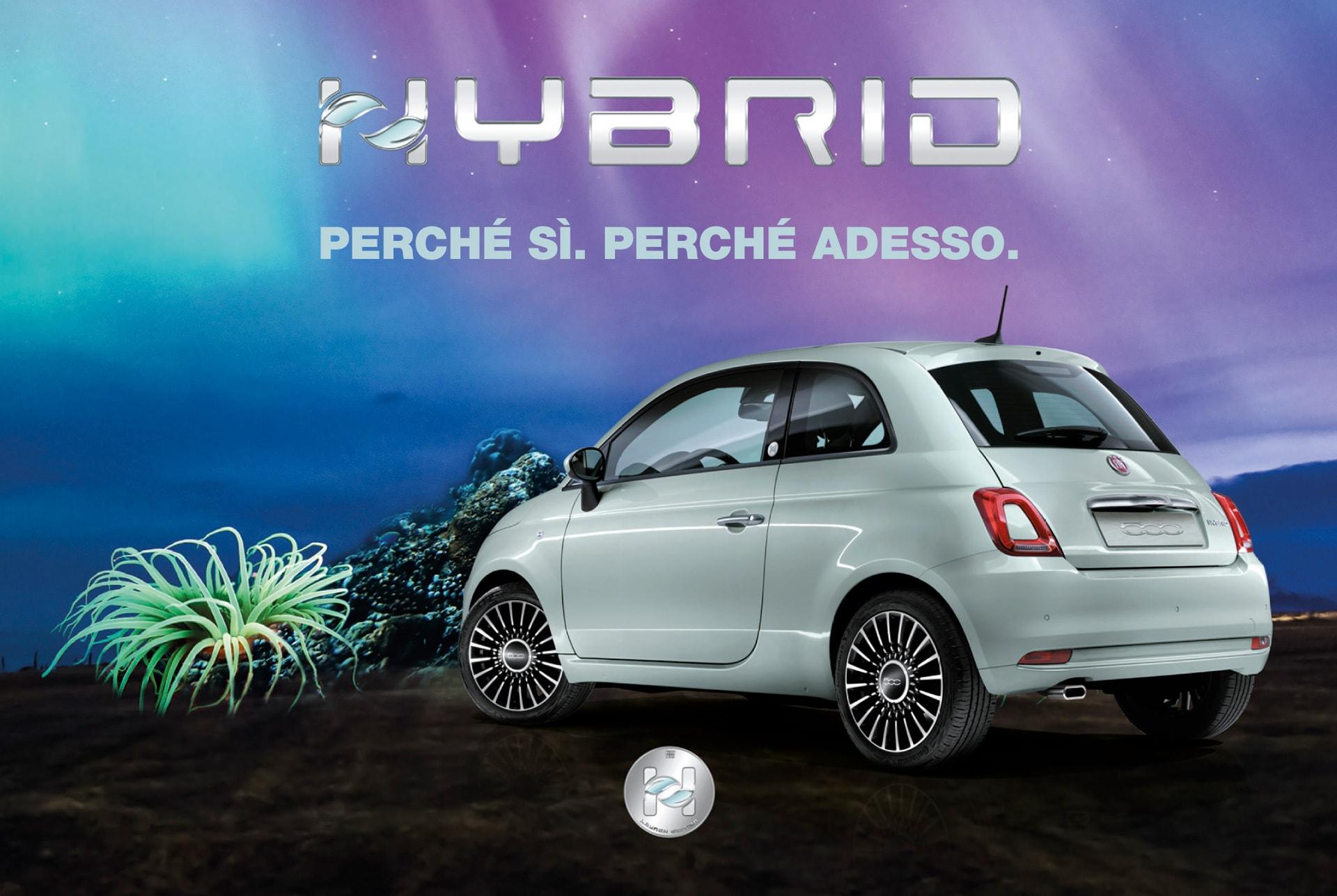 Presentazione nuova 500 Hybrid Marchi Auto Bastia Umbra - Perugia