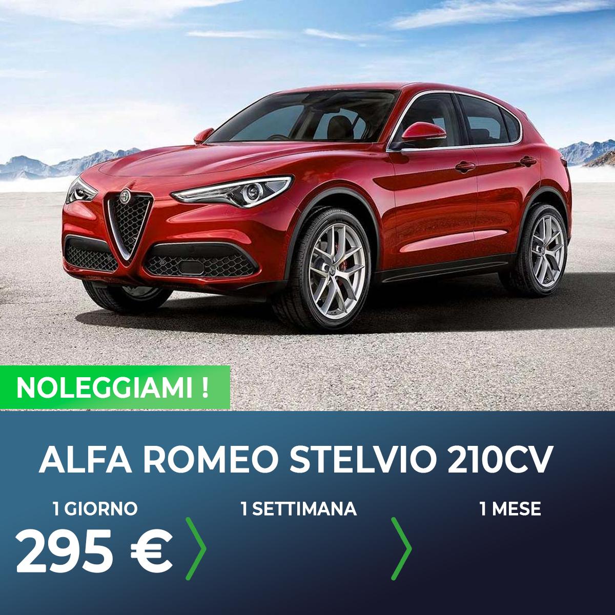 Alfa Romeo Stelvio noleggio breve termine