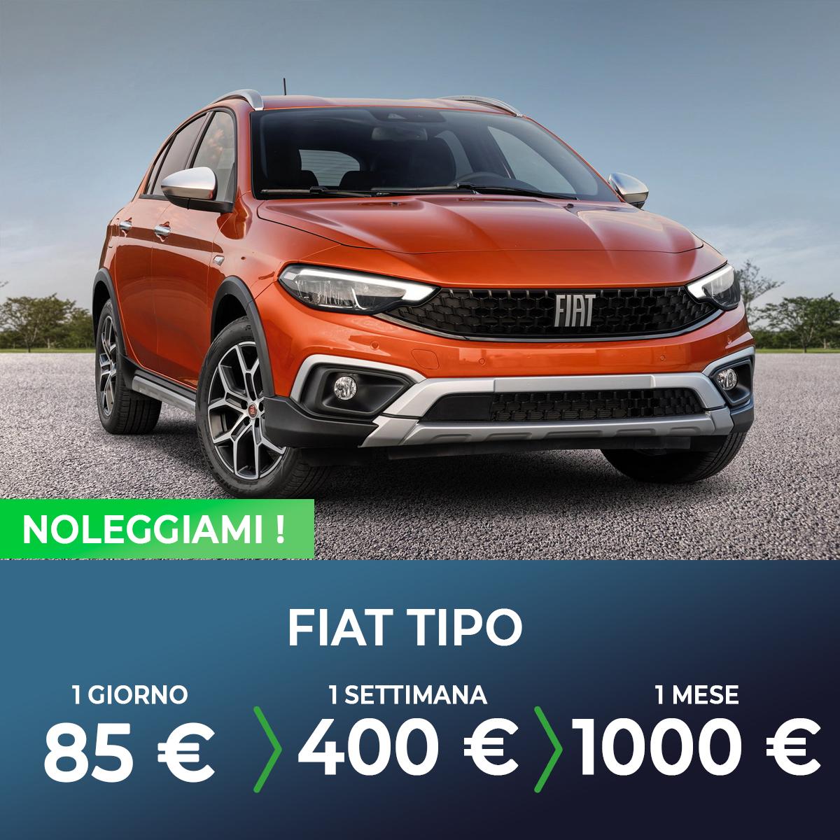 Fiat Tipo noleggio breve termine