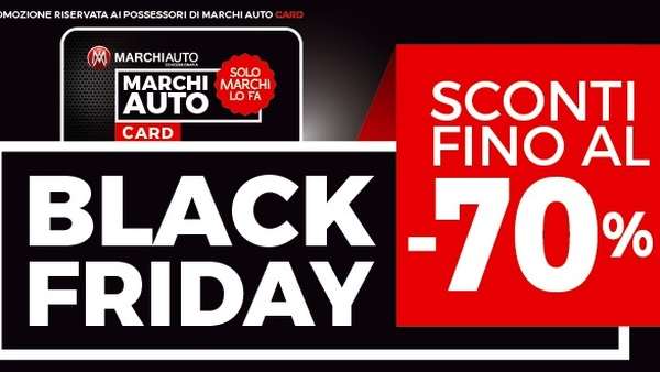 Banner Evento Black Friday marchi Auto